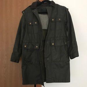 Jcrew utility long jacket